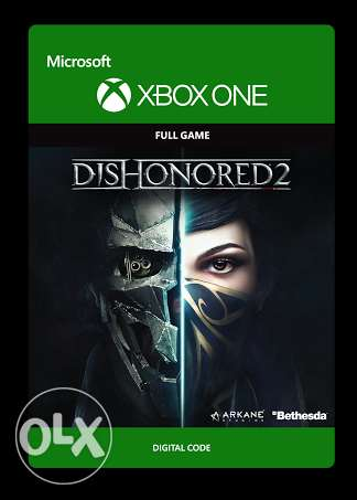 dishonored 2 xbox one digital code
