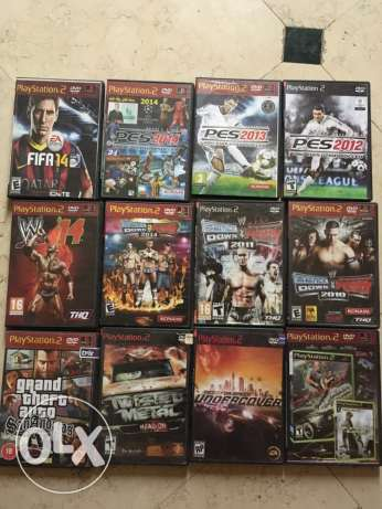 PlayStation 2 with 12 CD مدينة نصر -  1