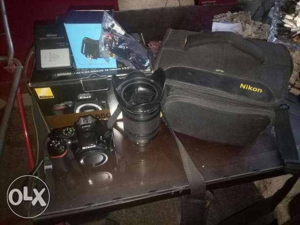 Nikon d5500 with 18_140vr