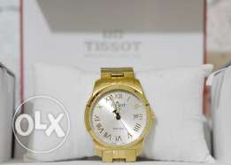 watch tissot gents/ladies original made in swiss تيسو ساعة سويسري دهبي