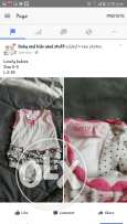 Variety of Baby girl clothes