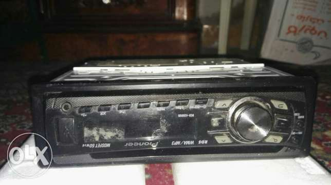 Pioneer CD 4350 , Good Condition with box and remote control الإسكندرية -  1