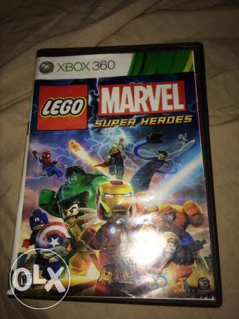 Lego Marvel Super Heros NOT ORIGINAL Cd for Xbox 360