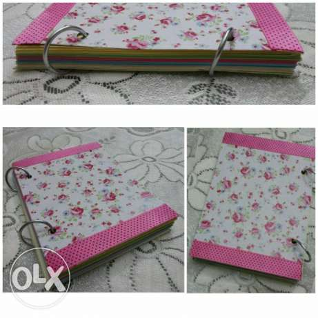 handmade notebooks ;) hard & soft cover