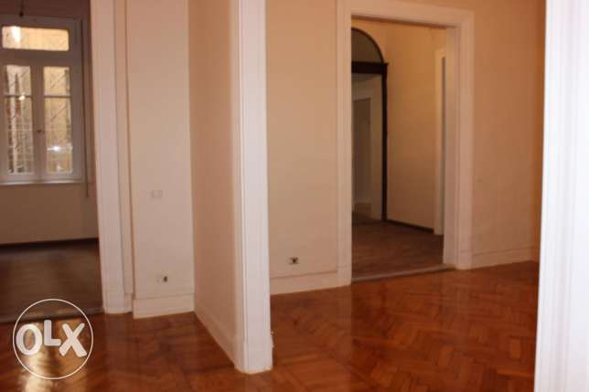 Newly renovated 3 Bed Apart. located in Hassan Sabri St. El Zamalek