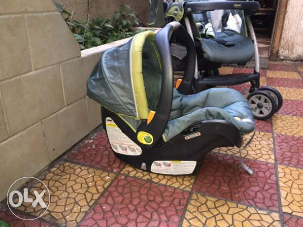 Stroller and Car seat SET الزمالك -  4