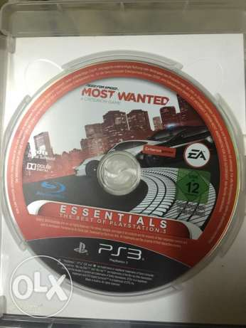 most wanted PS3 for sale used الوراق -  3