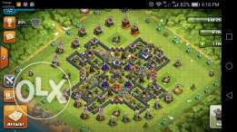 Clash of clans th 9 100%