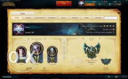 League of legends Plat Account