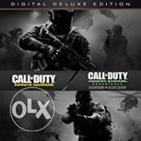 account secondary cod infinite warfare deluxe edition