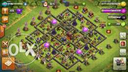 Clash of clan town 10 max