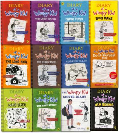 The Wimpy Kid diary