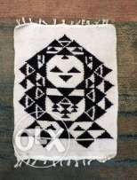 """Folkloric doll"" kilim rug by Khouzam designs"