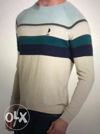 US POLO ASSN pullover size L and XL