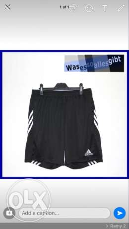 new adidas short from US size large
