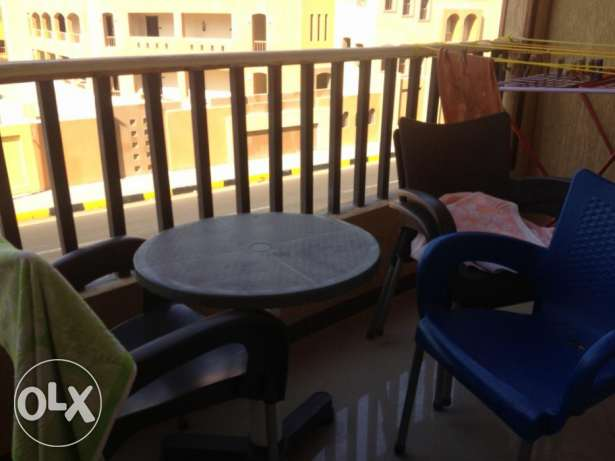 Flat in Inter-tal area, near Mamsha, with a sw. pool, 110m, 2 bedr الغردقة -  6