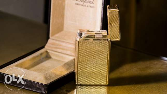 S.T Dupont lighter Original gold plated ligne1 مدينة نصر -  4