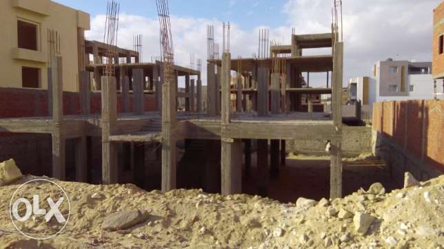 Land for sale in first heights 2 compound sheikh Zayed ارض للبيع