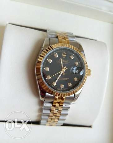 Rolex Datejust dial gold العباسية -  3
