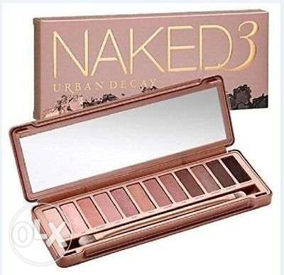 NEW NAKED 3 12 Color Eyeshadow Palette