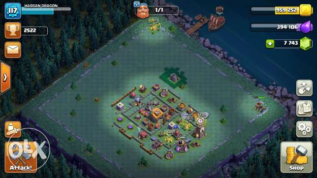 Clash of clans th8 95% max 6 أكتوبر -  4