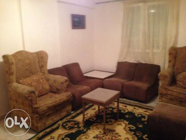 flat in dokki 2 bedrooms clean chance