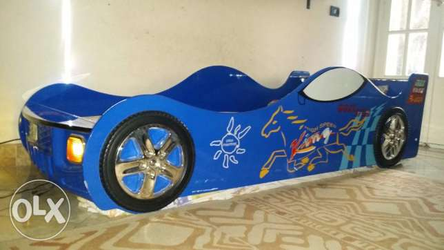 Racing Car Bed for Kids - from At Home - without mattress