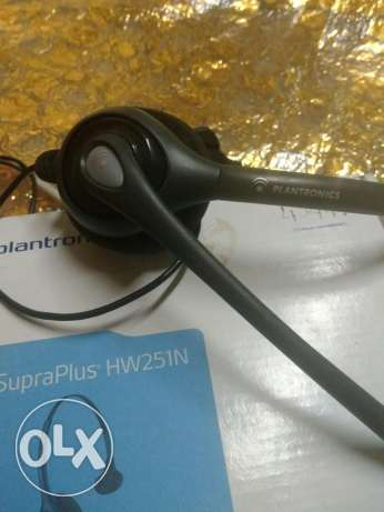 Headphone plantronics hw251n