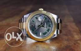 Rolex Datejust II automatic grey dial