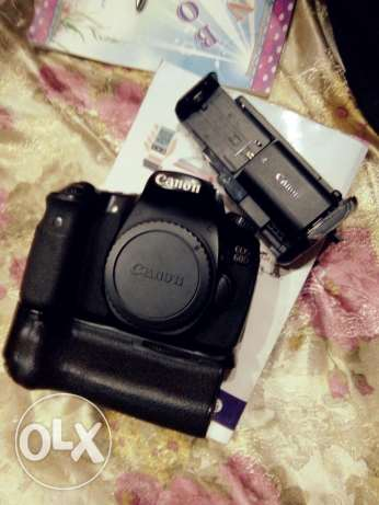 Canon 60d with box