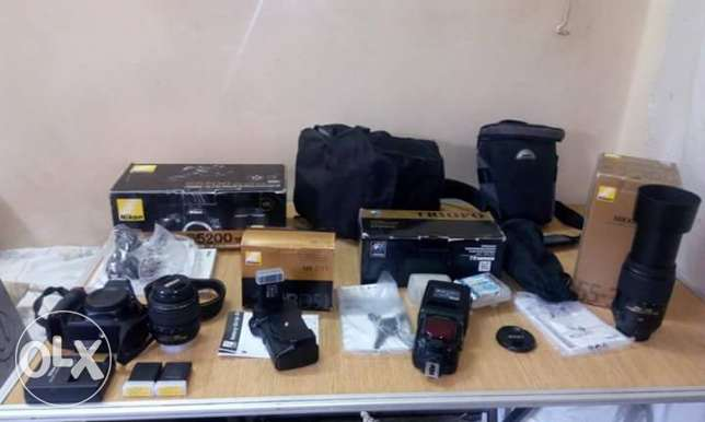 Package Nikon d5200 for sale
