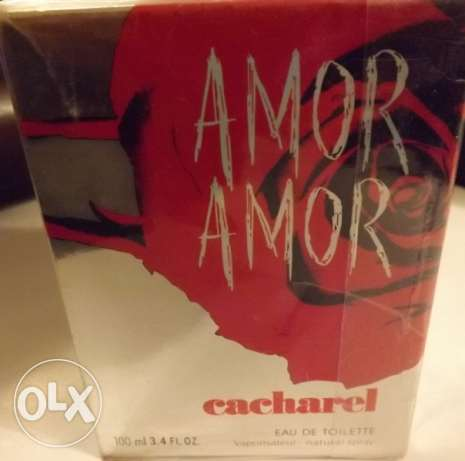 Amor Amor by Cacharel for Women Eau de Toilette 100ml Orign France
