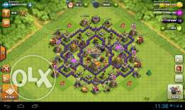 Clash of clans town 7 max