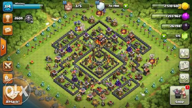 Clash of clans Th10 account