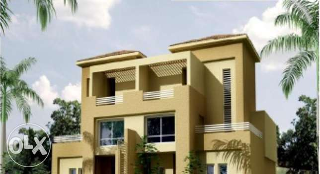 Twin House in Golf extension palm hills zone A type F, installments