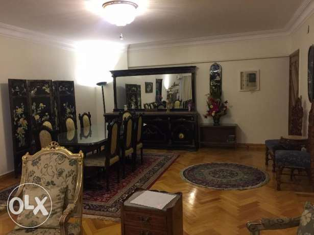 A Fully Furnished Sunny Apartment In Mohandsin For Rent