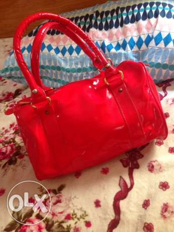 red bag used just once