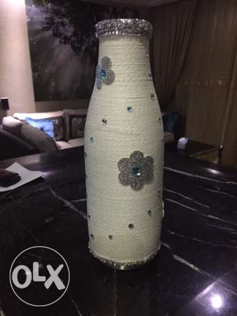 unique handmade vase- winter version مدينتي -  5