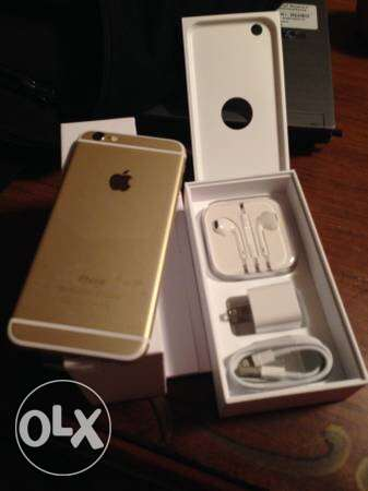 IPhone 6 Plus Gold 64 GB بدون ضمان بدون خربرش