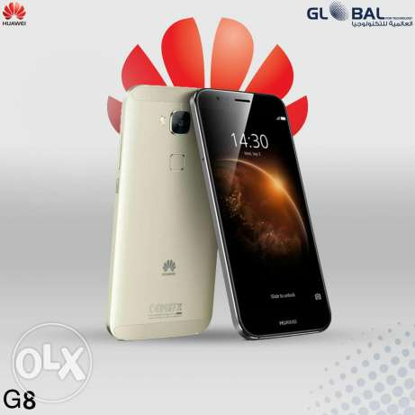 Mobile Huawei g8 + black original cover حى الجيزة -  2