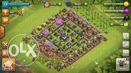 Clash Of Clans th.9 account