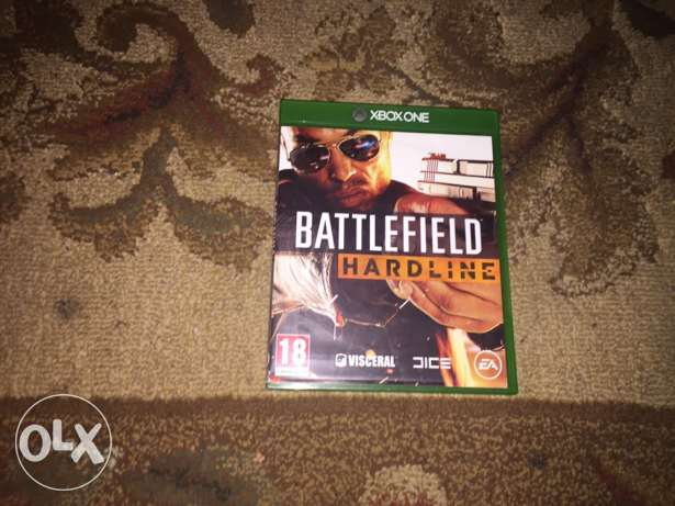 Battlefield Hardline CD for Xbox one. No scratches (like new)