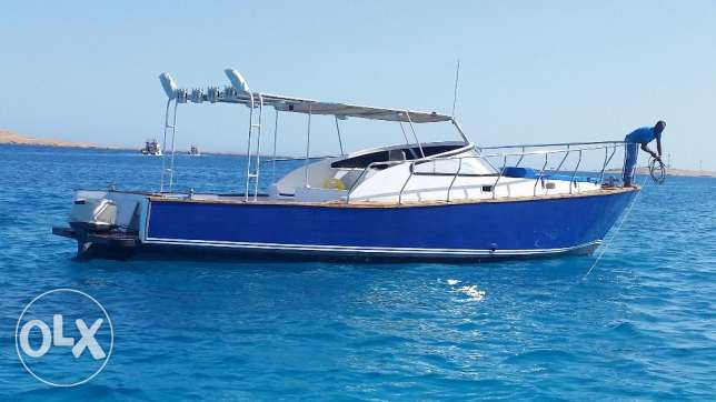 amazing 12 meters boat ready to sail in open sea. الغردقة -  2