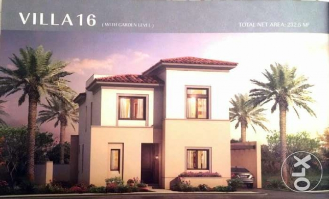Uptown Cairo Terencia Fully finished, Stand alone Villa, City view