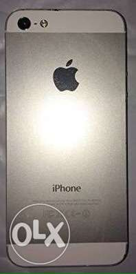 iphone 5 , 64 giga , silver منية النصر -  1