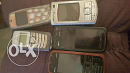 Used and old mobiles