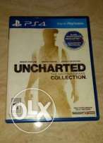 Uncharted collection and fifa 16 Arabic very good condition like new