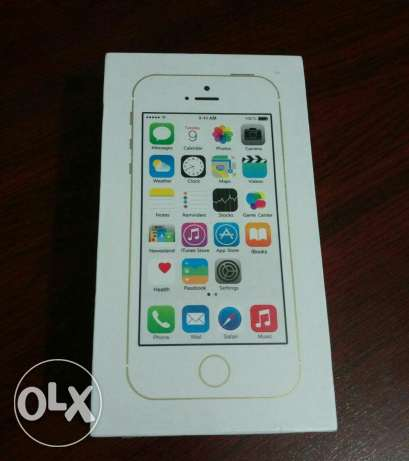 Iphone 5s 32 giga Sealed