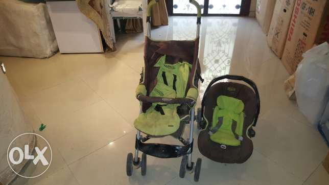 Car site and stroller