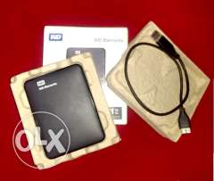 Extrnal HDD 1Tb. as new WD with all accessories & box